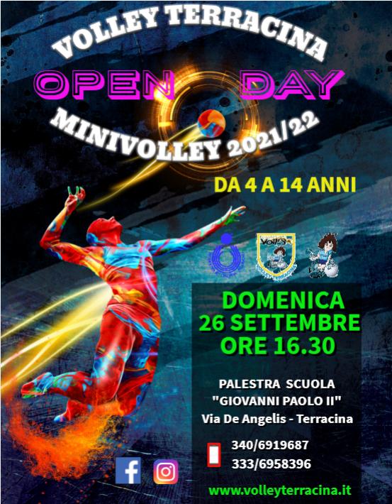 Grande attesa per l'OPEN DAY targato Volley Terracina.